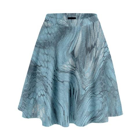 FROST DRAGON High Waist Skirt