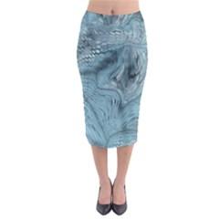 FROST DRAGON Midi Pencil Skirt