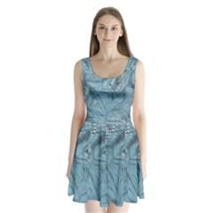 FROST DRAGON Split Back Mini Dress