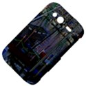 Christmas Boats In Harbor HTC Wildfire S A510e Hardshell Case View4