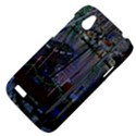Christmas Boats In Harbor HTC Desire V (T328W) Hardshell Case View4