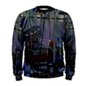 Christmas Boats In Harbor Men s Sweatshirt View1
