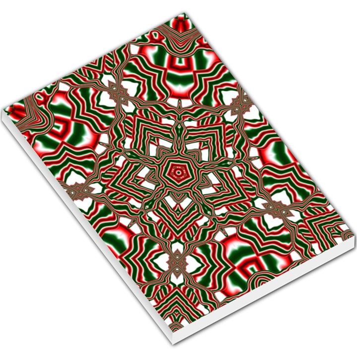 Christmas Kaleidoscope Large Memo Pads