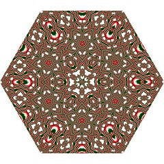 Christmas Kaleidoscope Mini Folding Umbrellas