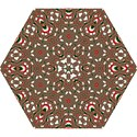Christmas Kaleidoscope Mini Folding Umbrellas View1