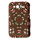 Christmas Kaleidoscope HTC Wildfire S A510e Hardshell Case View3
