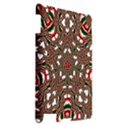 Christmas Kaleidoscope Apple iPad 2 Hardshell Case View2
