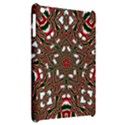 Christmas Kaleidoscope Apple iPad Mini Hardshell Case View2