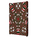 Christmas Kaleidoscope Apple iPad Mini Hardshell Case View3