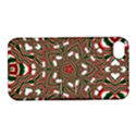 Christmas Kaleidoscope Apple iPhone 4/4S Hardshell Case with Stand View1
