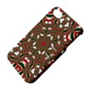 Christmas Kaleidoscope Apple iPhone 4/4S Hardshell Case with Stand View4