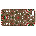 Christmas Kaleidoscope Apple iPhone 5 Hardshell Case with Stand View1