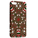 Christmas Kaleidoscope Apple iPhone 5 Hardshell Case with Stand View2