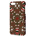Christmas Kaleidoscope Apple iPhone 5 Hardshell Case with Stand View3