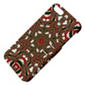 Christmas Kaleidoscope Apple iPhone 5 Hardshell Case with Stand View4