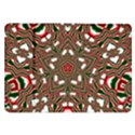 Christmas Kaleidoscope Samsung Galaxy Tab 8.9  P7300 Flip Case View1