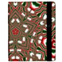 Christmas Kaleidoscope Samsung Galaxy Tab 8.9  P7300 Flip Case View2