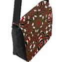 Christmas Kaleidoscope Flap Messenger Bag (L)  View2