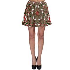 Christmas Kaleidoscope Skater Skirt