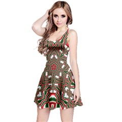 Christmas Kaleidoscope Reversible Sleeveless Dress