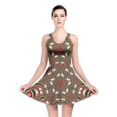 Christmas Kaleidoscope Reversible Skater Dress