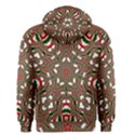 Christmas Kaleidoscope Men s Zipper Hoodie View2