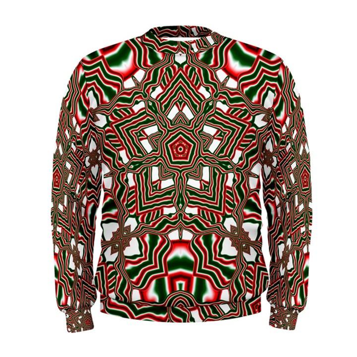 Christmas Kaleidoscope Men s Sweatshirt