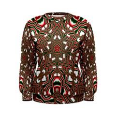 Christmas Kaleidoscope Women s Sweatshirt
