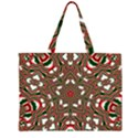 Christmas Kaleidoscope Large Tote Bag View1