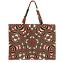 Christmas Kaleidoscope Large Tote Bag View2