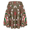 Christmas Kaleidoscope High Waist Skirt View2