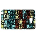 Block On Block, Aqua Samsung Galaxy Note 1 Hardshell Case View1