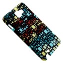 Block On Block, Aqua Samsung Galaxy Note 1 Hardshell Case View5