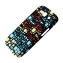 Block On Block, Aqua Samsung Galaxy S III Hardshell Case  View4