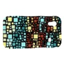 Block On Block, Aqua Samsung Galaxy Ace S5830 Hardshell Case  View1