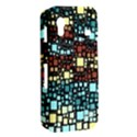 Block On Block, Aqua Samsung Galaxy Ace S5830 Hardshell Case  View2