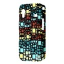 Block On Block, Aqua Samsung Galaxy Ace S5830 Hardshell Case  View3