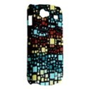 Block On Block, Aqua Samsung Galaxy Nexus S i9020 Hardshell Case View2