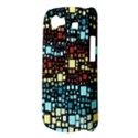 Block On Block, Aqua Samsung Galaxy Nexus S i9020 Hardshell Case View3