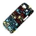 Block On Block, Aqua Samsung Galaxy Nexus S i9020 Hardshell Case View4