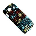 Block On Block, Aqua Samsung Galaxy Nexus S i9020 Hardshell Case View5