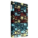 Block On Block, Aqua Apple iPad 3/4 Hardshell Case (Compatible with Smart Cover) View2