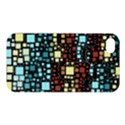Block On Block, Aqua Apple iPhone 4/4S Premium Hardshell Case View1