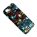 Block On Block, Aqua Apple iPhone 4/4S Premium Hardshell Case View5