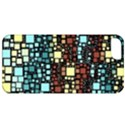 Block On Block, Aqua Apple iPhone 5 Classic Hardshell Case View1