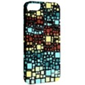 Block On Block, Aqua Apple iPhone 5 Classic Hardshell Case View2