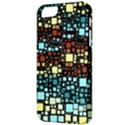 Block On Block, Aqua Apple iPhone 5 Classic Hardshell Case View3