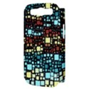 Block On Block, Aqua Samsung Galaxy S III Hardshell Case (PC+Silicone) View3