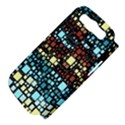 Block On Block, Aqua Samsung Galaxy S III Hardshell Case (PC+Silicone) View4