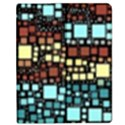 Block On Block, Aqua Apple iPad 2 Flip Case View1